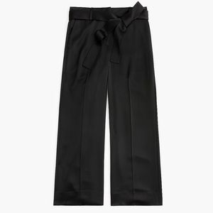 J.Crew Collection full-length wide-leg pant Satin